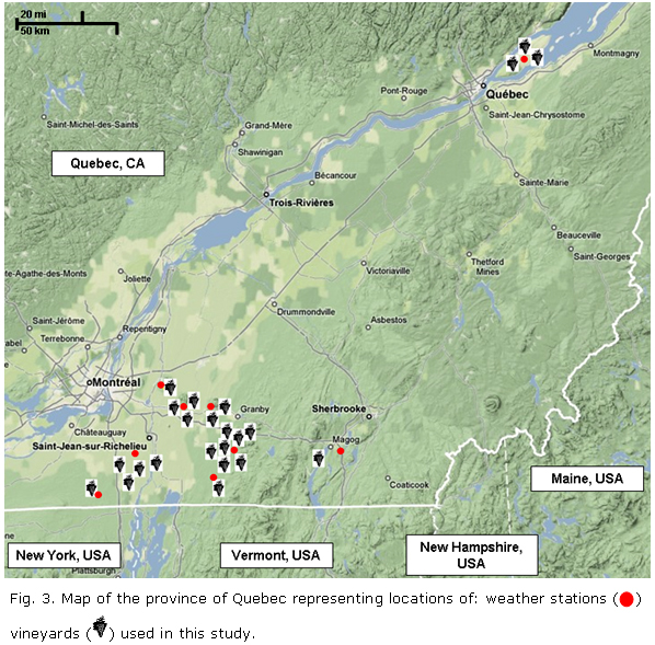 Evaluation of a Dynamic Model for Primary Infections Caused by <i>Plasmopara viticola</i> on Grapevine in Quebec